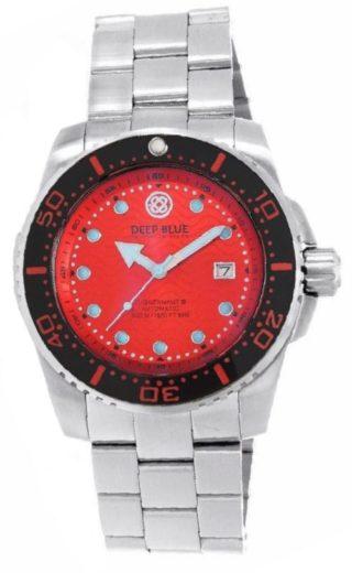 deep blue juggernaut iii automatic diver red 2 1